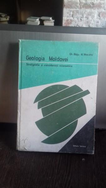 Geologia Moldovei , Stratigrafie si consideratii economice , Gheorghe Bagu , Alecu Mocanu , 1984
