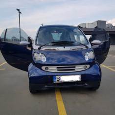 Smart Fortwo, Benzina, Coupe, Albastru, Numar usi: 2