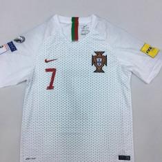 TRICOU PORTUGALIA, 7 RONALDO, MODEL WORLD CUP 2018 - Tricou echipa fotbal, Marime: L, M, S, XL, XS, XXL, Culoare: Din imagine, Nationala, Maneca scurta