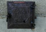 Usa veche soba teracota, perioada 1850