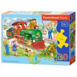 Puzzle 30. Green Locomotive