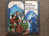 Mircea santimbreanu calin gruia piatra albastra legenda licuricilor disc vinyl, VINIL, electrecord