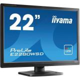 Monitor LED Iiyama ProLite E2280WSD-B1 22 inch 5 ms Black, 1680 x 1050