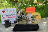 Mulineta Diamant Alb KT 6000 Tambur Long Cast 6000 + Nylon Aqua Crocodile Fluo