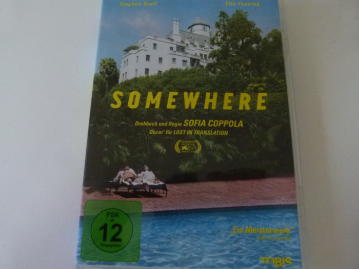 Somewhere - Sofia Coppola - dvd foto mare