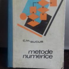 METODE NUMERICE - C.M. BUCUR