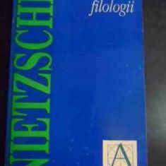 Noi, Filologii - Friedrich Nietzsche, 541189 - Carte Filosofie