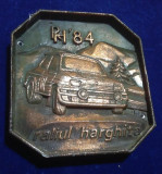 ACR AUTOMOBIL CLUB ROMAN - DACIA - RALIUL HARGHITEI 1984, medalie deosebita