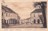 BISTRITA STRADA UNGUREASCA MAGAZINE,CIRCULATA 1929,ROMANIA.