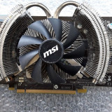 Placa video  MSI N460 GTX Cyclone OC 1GB 256bit DDR5