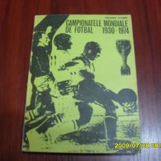 Carte  campionatele mondiale de fotbal  1930-1974