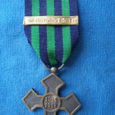CRUCEA COMEMORATIVA 1916-1918/BARETA MARASESTI-1917 - Medalii Romania