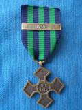 CRUCEA COMEMORATIVA 1916-1918 BARETA 1919