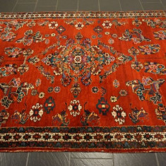 Covor persan semi- antic, 305x180cm, manual, lana, Sarouk Lilian - Covor vechi
