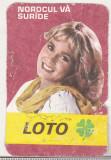 bnk cld Calendar de buzunar 1983 - Loto-pronosport