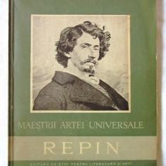Colectia MAESTRII ARTEI UNIVERSALE - REPIN, Paul Constantin, 1957