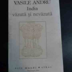 India Vazuta Si Nevazuta - Vasile Andru ,541050