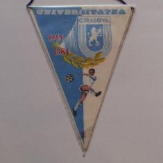 Fanion fotbal - Universitatea Craiova (aniversare 1964-1984)