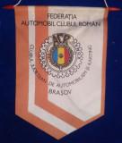 ACR - AUTOMOBIL CLUB ROMAN - BRASOV - Fanion 1970 Republica Socialista Romania