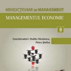 Minidictionar De Management 8: Managementul Economic - Ovidiu Nicolescu
