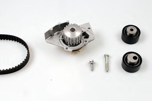 Set pompa apa + curea dintata FIAT SCUDO combinato (220P) (1996 - 2006) HEPU PK08413 foto mare