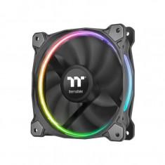 Kit ventilatoare si controller Thermaltake Riing 12 RGB Premium Edition, 120 mm, LED RGB - Cooler PC