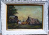 Tablou  Satra, Scene gen, Ulei, Realism