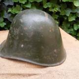 Casca militara romaneasca, model olandez, WW2. (2)