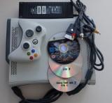 Consola Microsoft Xbox 360 impecabil MODAT jocuri gratis GTA 5 FIFA 18