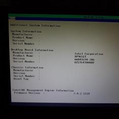 Placa de baza intel socket 775, model dp965lt in stare de functionare