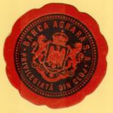 Vigneta - Sigiliu inchidere plic  Banca Agrara Privilegiata din Cluj