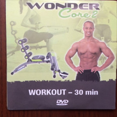 Wonder core 2 workout dvd video sport exercitii fizice in engleza si germana, Italiana