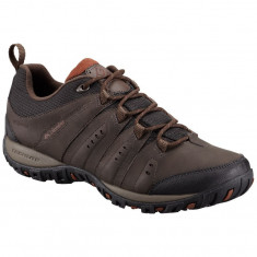 Pantofi Columbia Woodburn II Waterproof, 42, Maro