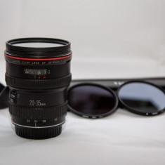 Obiectiv foto Canon 20-35mm f2.8L si filtre, Standard, Autofocus