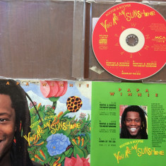 Papa winnie rootsie boopsie you are my sunshine maxi single cd disc reggae pop, MCA rec