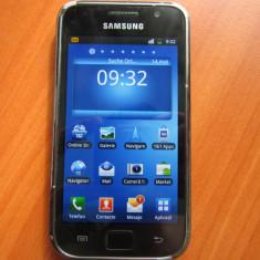 SMARTPHONE SAMSUNG GALAXY S PLUS GT-9001 DECODAT CU DEFECT, 8GB, Negru, Neblocat