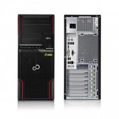 Workstation Fujitsu Celsius W510 Tower Intel Quad Core Xeon E3-1225 3.1GHz CMT16935048 - Sisteme desktop fara monitor