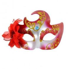 Masca venetiana rosie