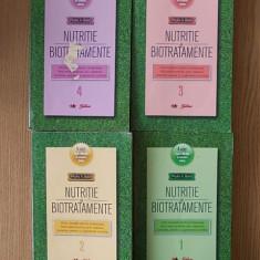 NUTRITIE SI BIOTRATAMENTE- VOL I,II,III,IV