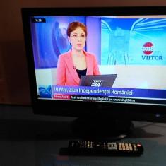 TV LCD 22 INCH LG FLATRON + TELECOMANDA ORIGINALA LG - Televizor LCD, 56 cm, HD Ready