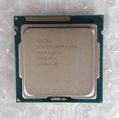 Procesor Intel Core I5 3470 3, 2GHz Socket LGA1155, Cache 6MB, Ivy Bridge - Procesor PC