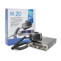 Resigilat : Statie radio CB Midland M20 cu USB Cod C1186