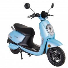 Scuter Moped electric motor Bosch 60V Grace 800W ZT25 EEC BERLIN ALBASTRU