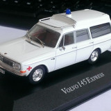 Macheta Volvo 145 Express 1972 Ambulanta - Atlas 1/43, 1:43