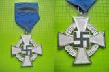 Medalie NSDAP al III Reich premiul pt 25 de ani de serviciul loial in Wehrmacht.