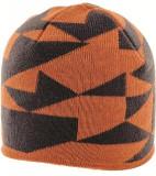 Caciula Highlander Beanie Hat, Portocaliu/Negru