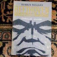 Romain Rolland  - Beethoven -  ultimele cvartete