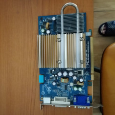 Placa video Gigabyte GeForce 7600 GS, 256MB,PCI Express
