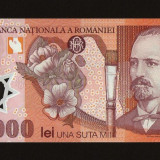 100.000 100000 LEI 2001 / 2004 ,  NECIRCULATA , UNC . Polymer ,  Polimer