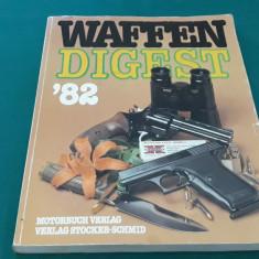 WAFFEN DIGEST* 1982/ CATALOG ARME *LIMBA GERMANĂ